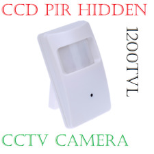 """HIDDEN PIR Disguise COVERT CCTV CAMERA 1/3"""" SONY CCD 1200TVL PIR Sensor"""