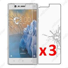Lot 3 Film protection écran VERRE Trempé Vitre anti casse Nokia 3