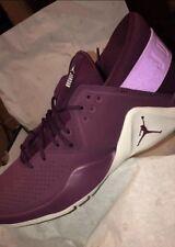 Mens Michael Air Jordan Fresh Flight Shoes Size 10.5 Burgandy NWT sneakers