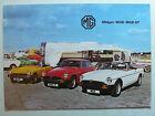 Prospekt brochure MG B / B GT, Midget, 11.1978, 20 Seiten, english