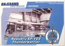 REPUBLIC XF-103 THUNDERWARRIOR  ANIGRAND 1/72 RESIN KIT
