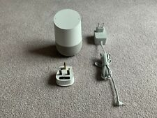 Google Home Hands-Free Smart Speaker - French Language - Excellent Condition
