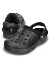 Crocs Ralen Fleece Lined Clog Black Men's Size 12