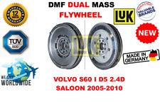 Para Volvo S60 i D5 2.4D Saloon 2005-2010 Nuevo Dual Mass Dmf Volante