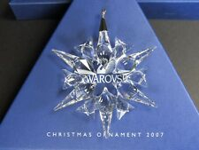 Swarovski Large Annual Edition Christmas Ornament 2007 MIB #872200