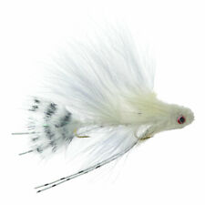 Mini Sex Dungeon Streamer White - Articulated Trout and Bass Fly Fishing Fly