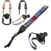 Vintage Camera Shoulder Belt Strap for Sony Nikon Canon Olympus DSLR Camera