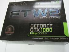 EVGA GeForce GTX 1080 FTW2 DT Gaming 8GB GDDR5X iCX Technology Graphics Card