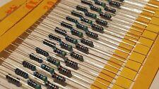 40 pcs 30 Values 1/4 W 1% Metal Film Resistors Resistance mixed Assortment Set