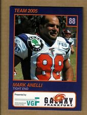 2005 Galaxy Nfl Europe Team Issue - Mark Anelli - Wisconsin Badgers - 49ers