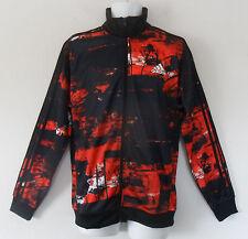 Adidas ELEMENTAL Camo Track sweat shirt Jacket superstar top firebird~Men sz Med