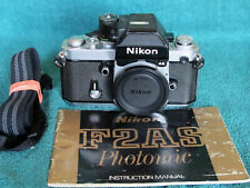 Nikon F2AS Photomic DP-12 Tested & READY for FILM