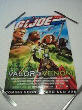 """GI JOE VALOR vs. VENOM Movie POSTER 16"""" X 22'"""