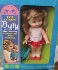 Vintage 1968 Mattel Buffy & Mrs. Beasley Small Talk Talking Doll Sealed Nos