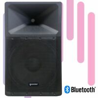 Gemini Pro DJ Audio 2200 Watt Portable Bluetooth Media PA System Party Speakers