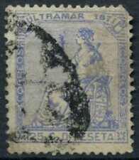 Puerto Rico 1871 SG#49, 25c Ultramarine Used #E10782