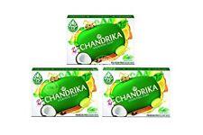 Chandrika Ayurvedic Soap 3 x 75g - FREE SHIPPING