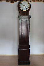 Standuhr Biedermeier 1800, 2 Gewichte Seilzug, signiert F. W. Geerdtz Kiel #4030
