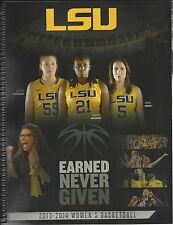 2013 - 14 LSU WOMEN'S BASKETBALL MEDIA GUIDE - NEW