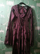 NEW SUBTERRANEA~ GYPSY ~ GOTHIC ~VICTORIAN AMERICAN HORROR~CORSET DRESS SZ LARGE
