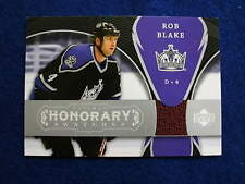 2007 Trilogy Rob Blake game used jersey card  hockey  Kings  jsy gu