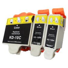 3PK 10XL  2BK+C Ink Cartridge  For Kodak 10XL ESP 5210 7250 3250 5250 9 5 7 9250
