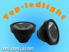 10pcs 60°LED LENS Reflector Collimator 20mm for Cree XP-E/XP-G / XT-E LED Light