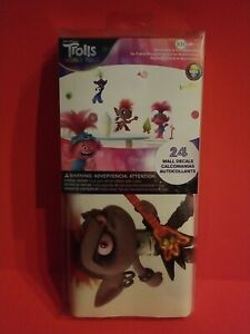 New RoomMates Trolls World Tour Movie 24 Peel And Stick Wall Decals