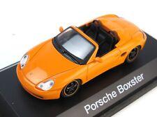 1:43 SCHUCO diecast 04381 PORSCHE Boxster 1999 ORANGE Cabrio mib n/b OVP
