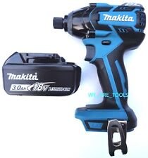 "Makita Brushless 18V XDT08 Cordless 1/4"" Impact Driver,1) BL1830 Battery 18 Volt"