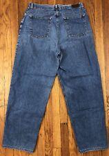 LL Bean Straight Leg Medium Wash Womens Jeans Tag Size 16 M/T Actual 32x30