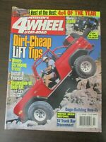 PETERSEN'S 4WHEEL & OFF ROAD MAGAZINE FEBRUARY 1998 JEEPS YJ TRACK BAR DISCONNEC