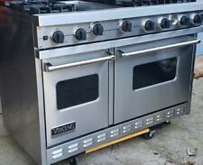 "Viking 48"" PRO Range Stove VGSC4876GSS  Gas 6 Burners + Griddle Stainless"