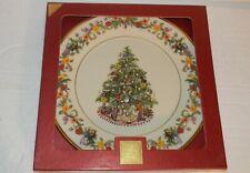 "Lenox Christmas Trees Around The World Plate Brazil 2004 G549 10.75"" dia"