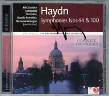 Donald RUNNICLES Signiert HAYDN Symphiny No.44 100 MOZART 51 Nicholas McGEGAN CD