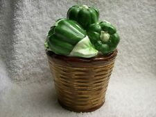 Basket of Bell Peppers by The Holden Group Salt & Pepper Shakers Set S&P