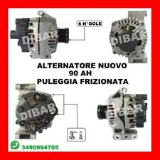 ALTERNATORE NUOVO 90AH FIAT PANDA-PUNTO 1.3 JTD DAL 2003 51KW 70CV 439505