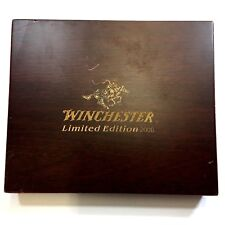 Winchester WOOD BOX 2006 Limited Edition 3 Knife Presentation Case XX-1080