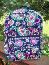 VERA BRADLEY Campus Backpack School Professional College Petal Paisley
