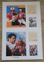 2 Steve Young San Francisco 49ers NFL11x14 Prints Hall Of Fame Brigham Young #1