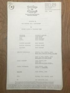 Richard Gordon 1972 London Weekend Television Script for Doctor in Charge Ep 22
