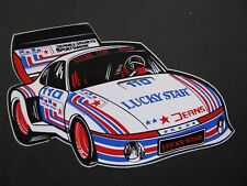 Ancien Autocollant VOITURE LUCKY STAR JEANS