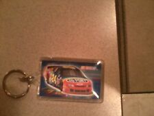 NASCAR Jeff Gordon Dupont Racing#24 Car Vintage Logo 2 Sided Acrylic Keychain