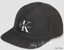 CK Calvin Klein  BaseBall Cap Ball Hat Military NWT  One Size  C.K. Black