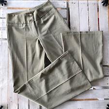 High waist Schlaghose hose Schlag S 36 Oliv grün Damen Bund 37cm