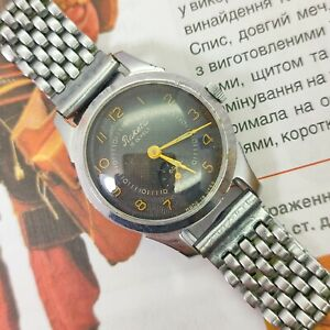 ⭐ VINTAGE Soviet watch RAKETA mechanical 16 jewels Made in USSR 1980s. original