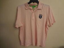 HUGO BOSS  MENS Tavistock Cup Golf Short Sleeve Polo Shirt reg fit Pink XXL-  D4