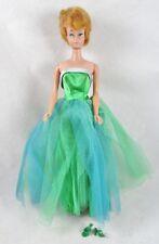 Blonde Bubblecut Barbie in Senior Prom #951 Classic Gown Prom Dance 1963 Vintage