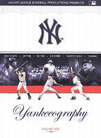 Yankeeography - Vol. 1 (DVD, 2004, 3-Disc Set) Dolby Digital Audio 5.1