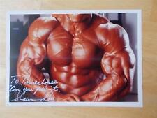 """SHAWN RAY muscle bodybuilding muscular SIGNED photo 5"""" X 7"""""""
